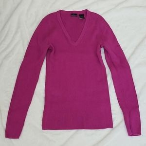 Plum purple sweater